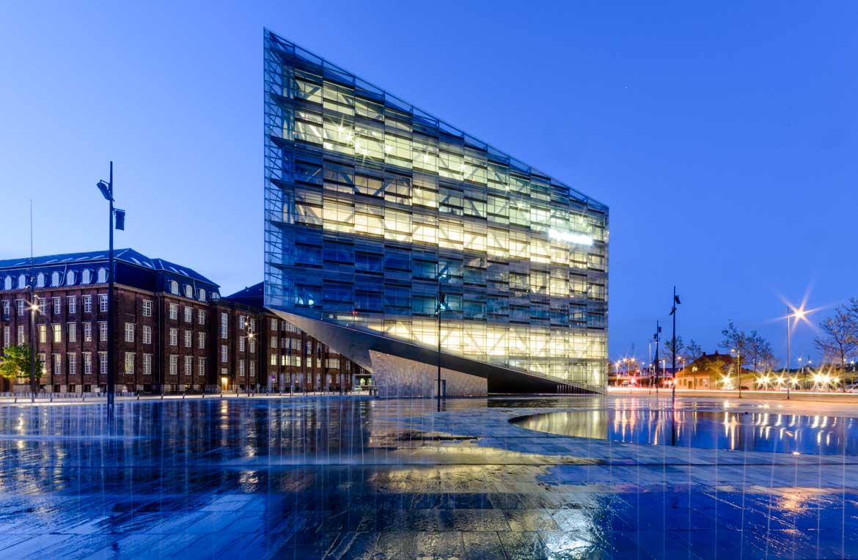 Der Kristall - Architekturbüro Schmidt Hammer Lassen - Reportage im Auftrag von Novarc Images