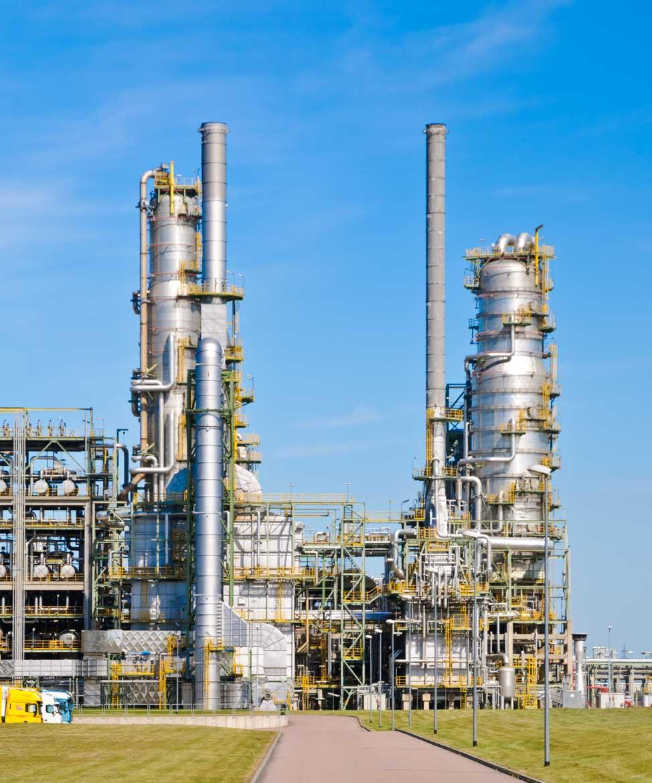 Chemiewerke Leuna - Reportage für Novarc Images