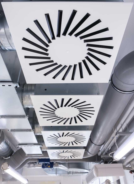 Lüftungsanlagen HKI für air-consult