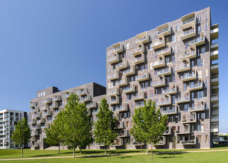 Modernes Appartementhaus - Architekturbüro Lundgaard & Tranberg - Reportage im Auftrag von Novarc Images