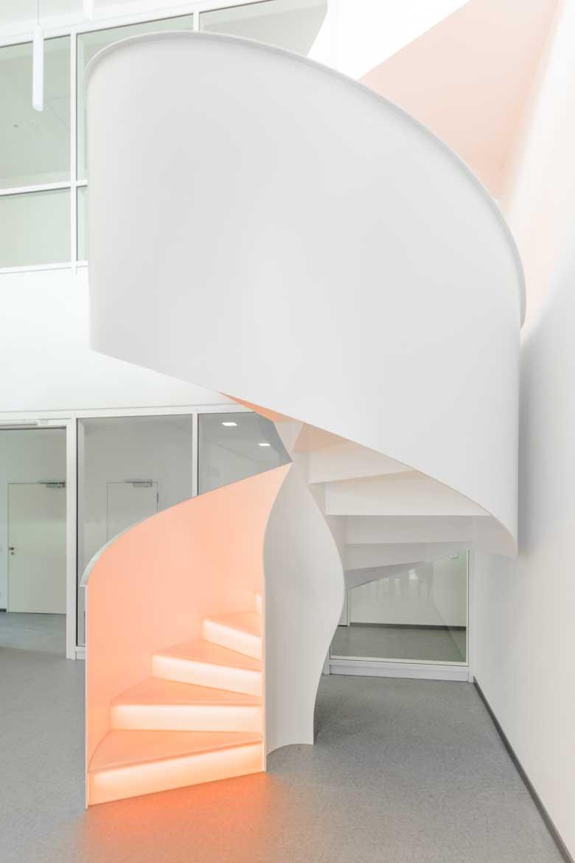 Wendeltreppe für Nautilus Treppen GmbH & CO.KG