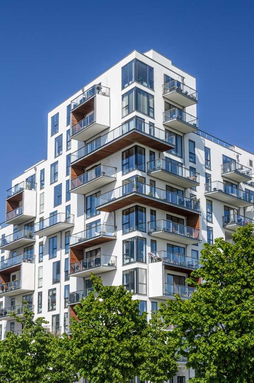 Stævnen, modernes Appartementhaus - Architekturbüro Vilhelm Lauritzen - Reportage im Auftrag von Novarc Images